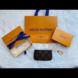 Brand New Louis Vuitton Cles/Key Pouch